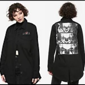 NWT IT Chapter Two Pennywise Zoom Cargo Jacket